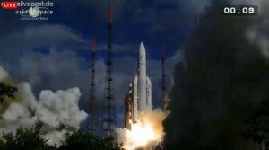Arianespace via Spacelivecast