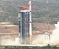 China: LM-4B bringt drei Satelliten ins All