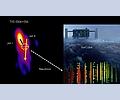Kosmische Kollision erzeugt Neutrino