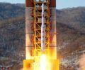 Nordkorea startet Kwangmyongsong 4 auf Unha-3