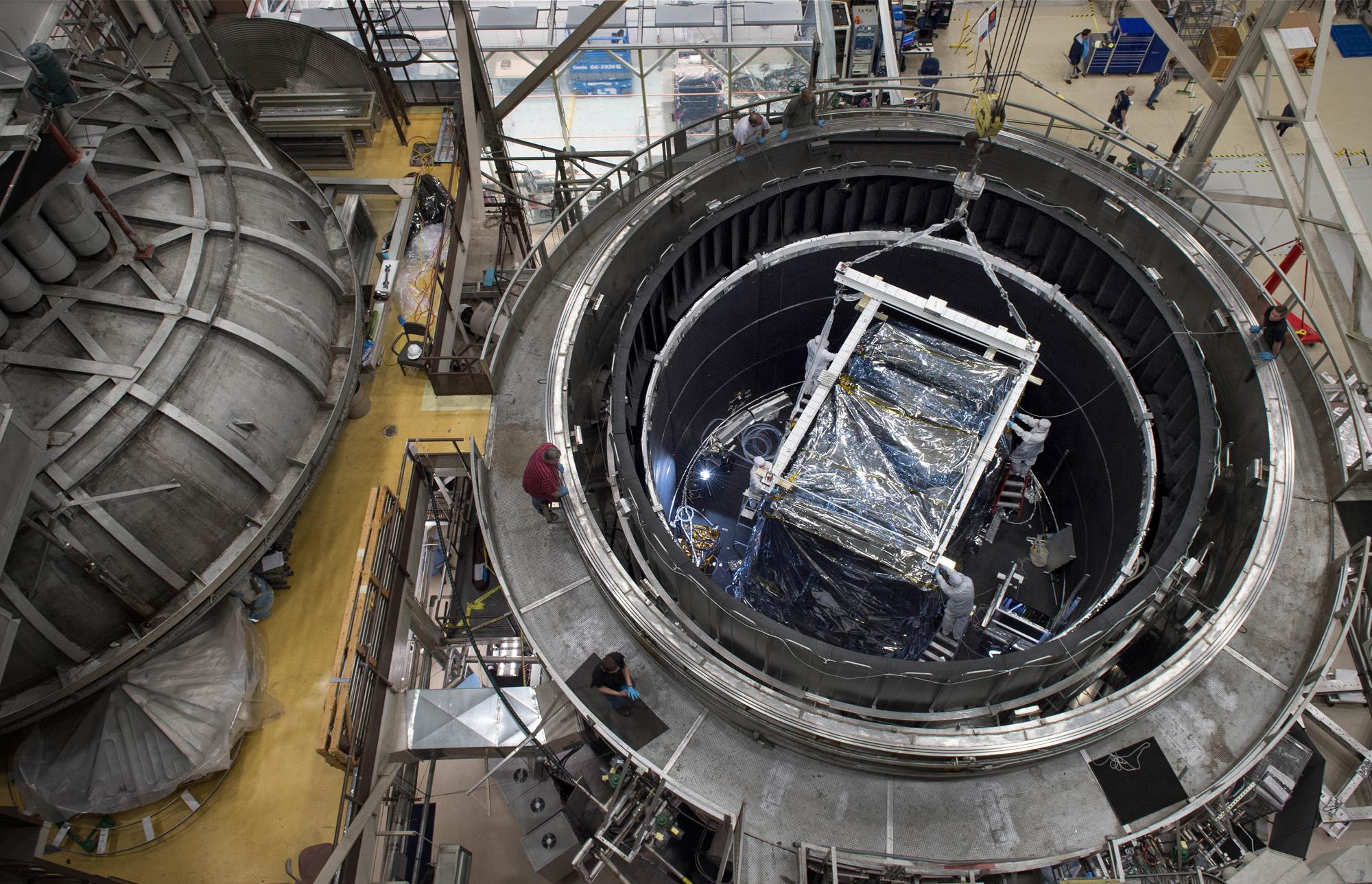 Fortschritte Beim Bau Des James Webb Teleskops