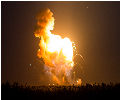 Antares explodiert kurz nach dem Start zur ISS