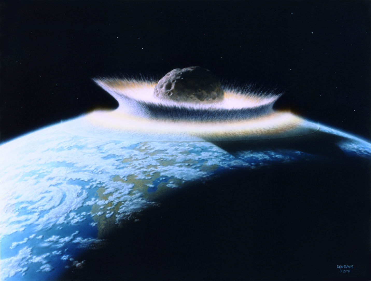 biggest asteroid to hit the earth - photo #28