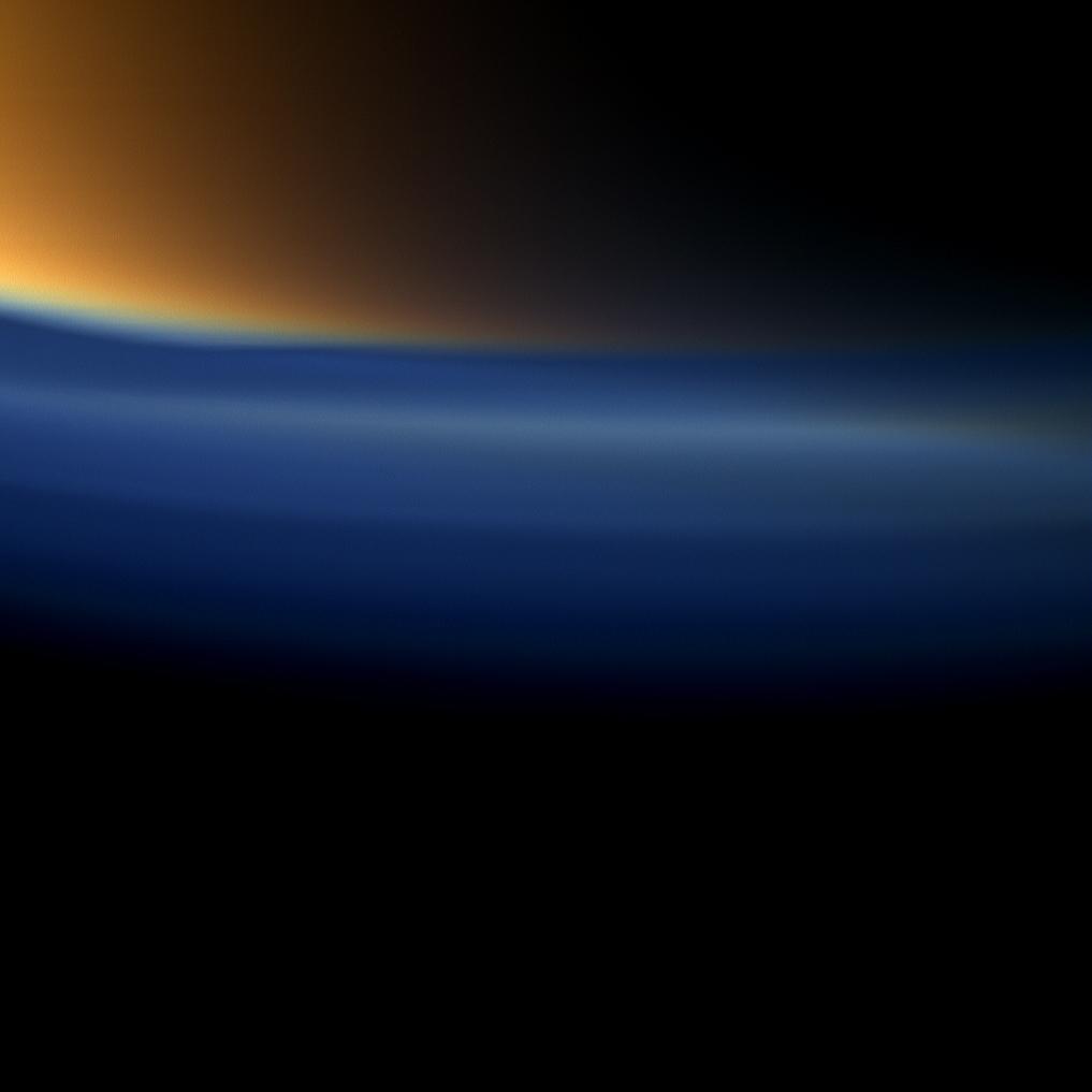 Raumsonde Cassini entdeckt Propen in Titan-Atmosphäre