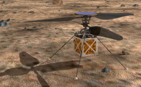 Mars 2020 Rover: Mars Helicopter kommt