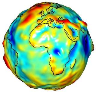 Schwerkraft Erde