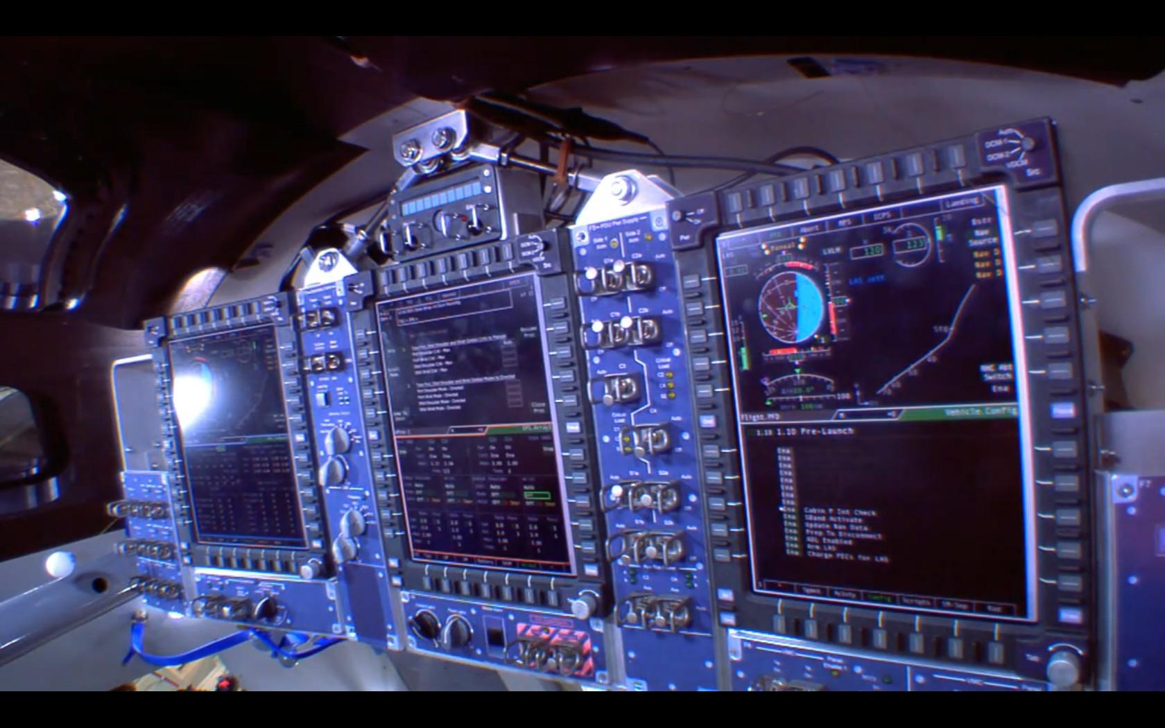 orion spacecraft cockpit - photo #1