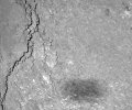 Kometensonde Rosetta fotografiert eigenen Schatten