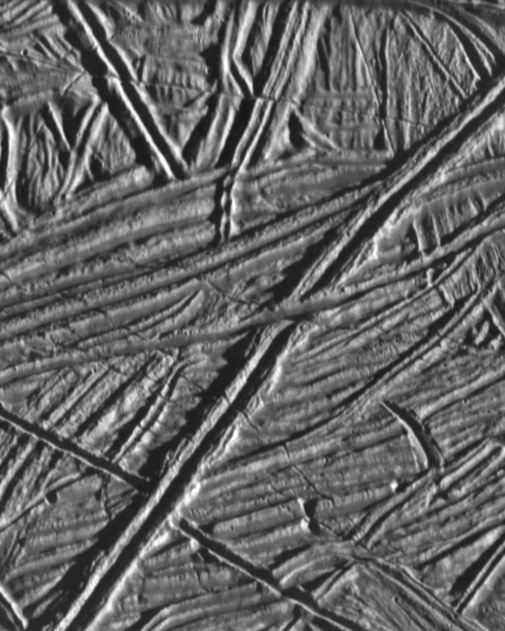 Surface Europa Galileo Big
