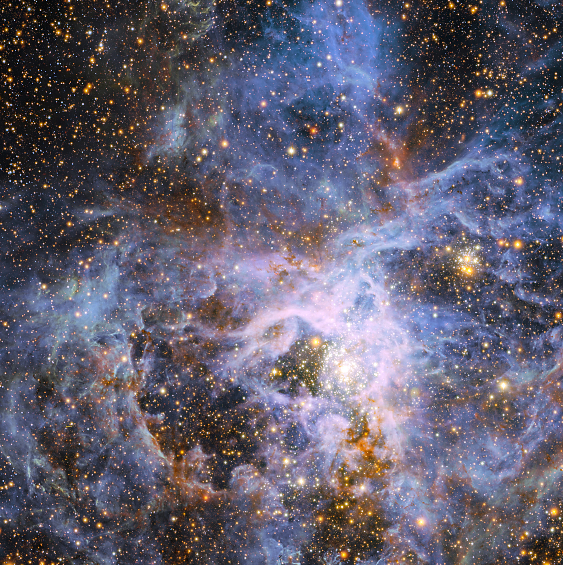 eso tarantula nebula wallpaper - photo #10