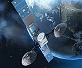 NASA-Relaissatellit TDRS M im All