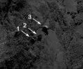 19. Mai 2015 - Rosetta: Ein Wackelstein auf dem Kometen 67P