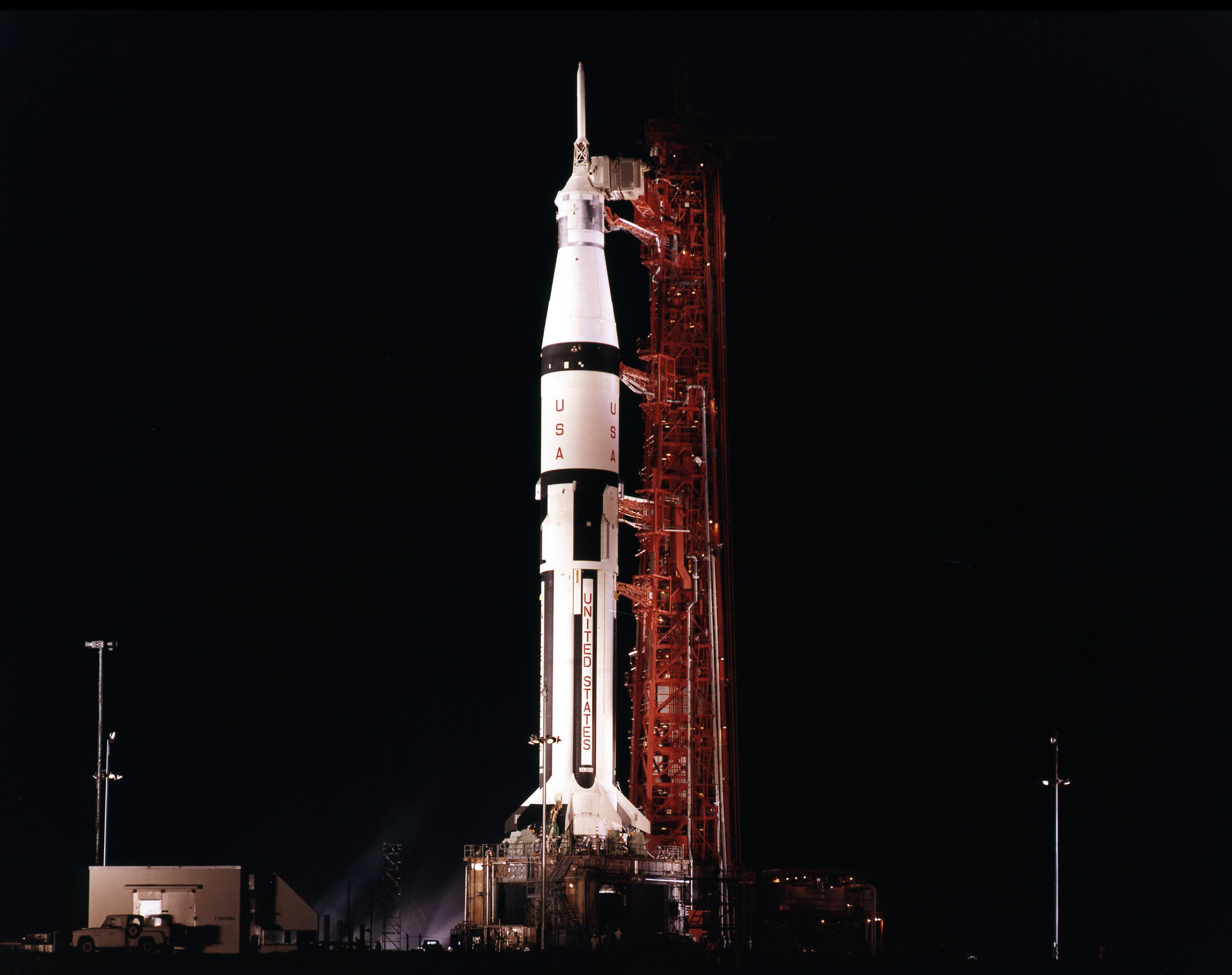 where did apollo 7 launch - photo #5