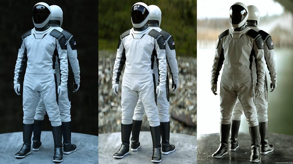 Spacex Raumanzüge
